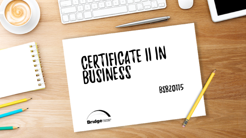 BSB20115 Certificate II in Business Bridge Business College