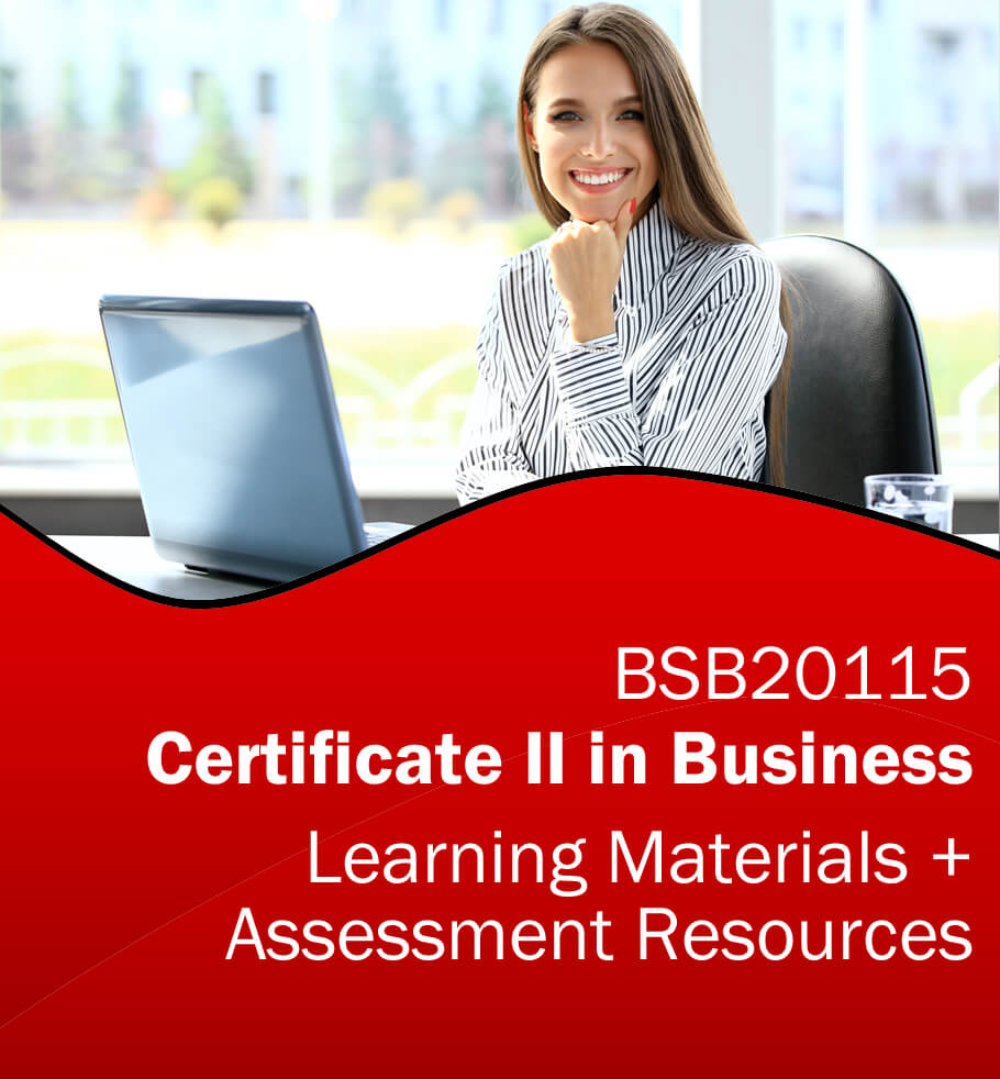 Certificate II in Business RTO Learning Resources and Asessment