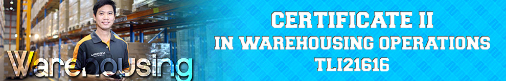 Certificate II in Warehousing Operations online training course