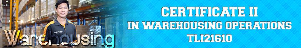 Certificate II in Warehousing Operations | HR training PH