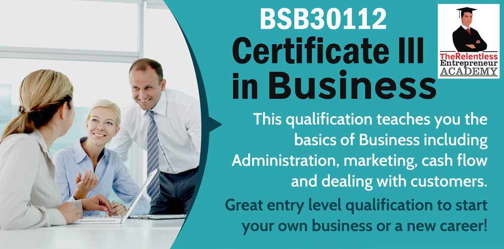 BSB30115 Certificate III in Business The Queensland Academy