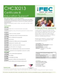 Child Care Courses | CHARLTON BROWN® |Certificate III in Education