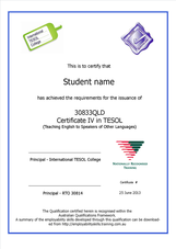 International TESOL College Certificate IV in TESOL