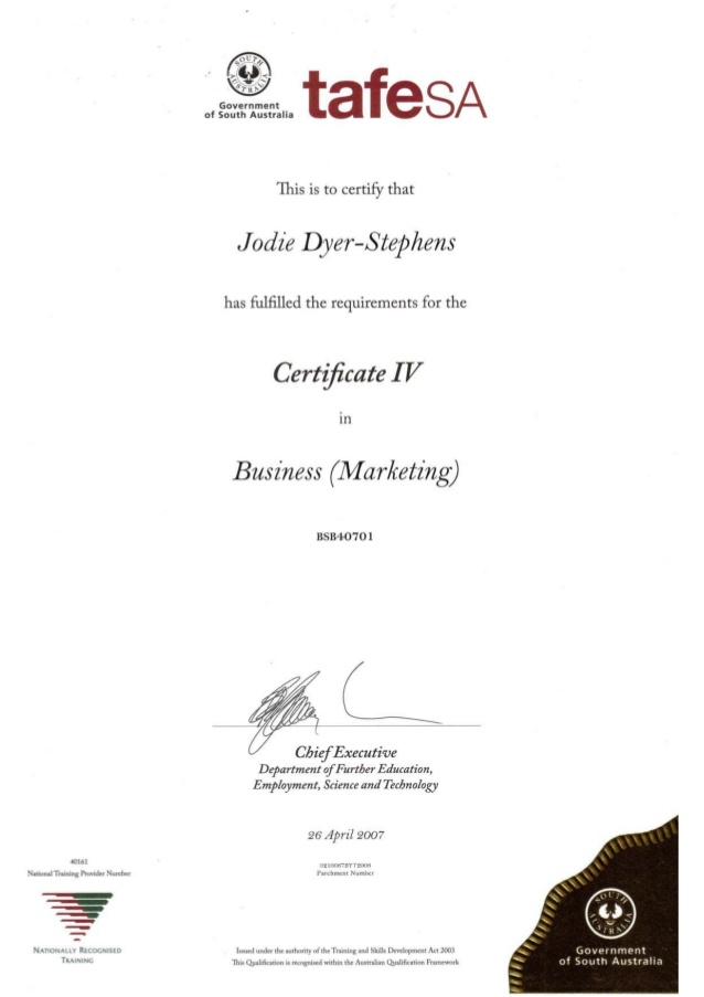 4 Certificate
