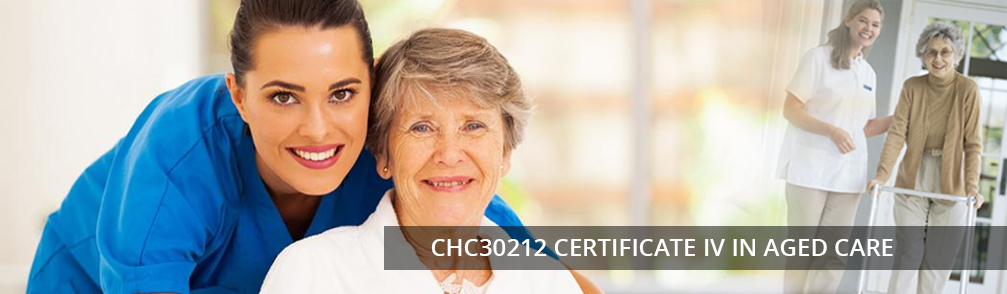 VIC CHC43015 Certificate IV in Ageing Support Aged Care Training