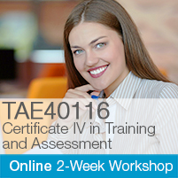 Certificate IV in Training & Assessment Online