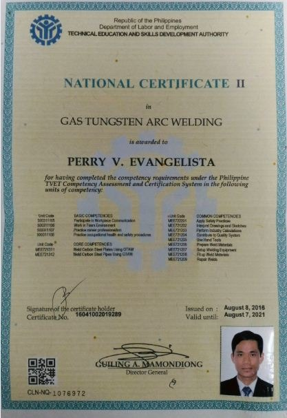 Certificate 7 tig welding certificates templates free for Welding certificate template