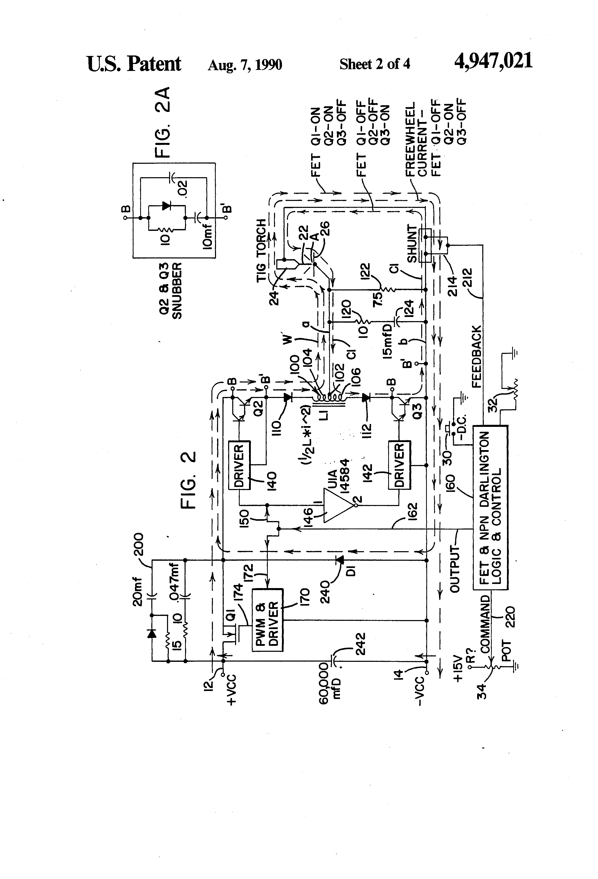 Patent US4947021 Method and apparatus for TIG welding Google