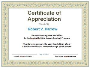 Certificate appreciation template word certificates templates free certificate appreciation yelopaper Choice Image