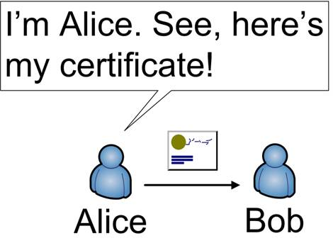 Certificate based authentication | Voltage