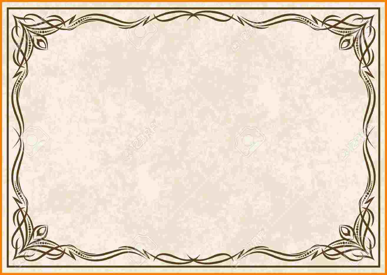 Free Certificate Borders Clipart The Cliparts
