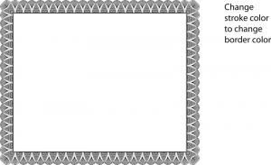 Certificate border vector certificates templates free certificate border vector yadclub Images