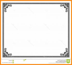 Certificate border design in photoshop certificates templates free certificate design border yelopaper Gallery
