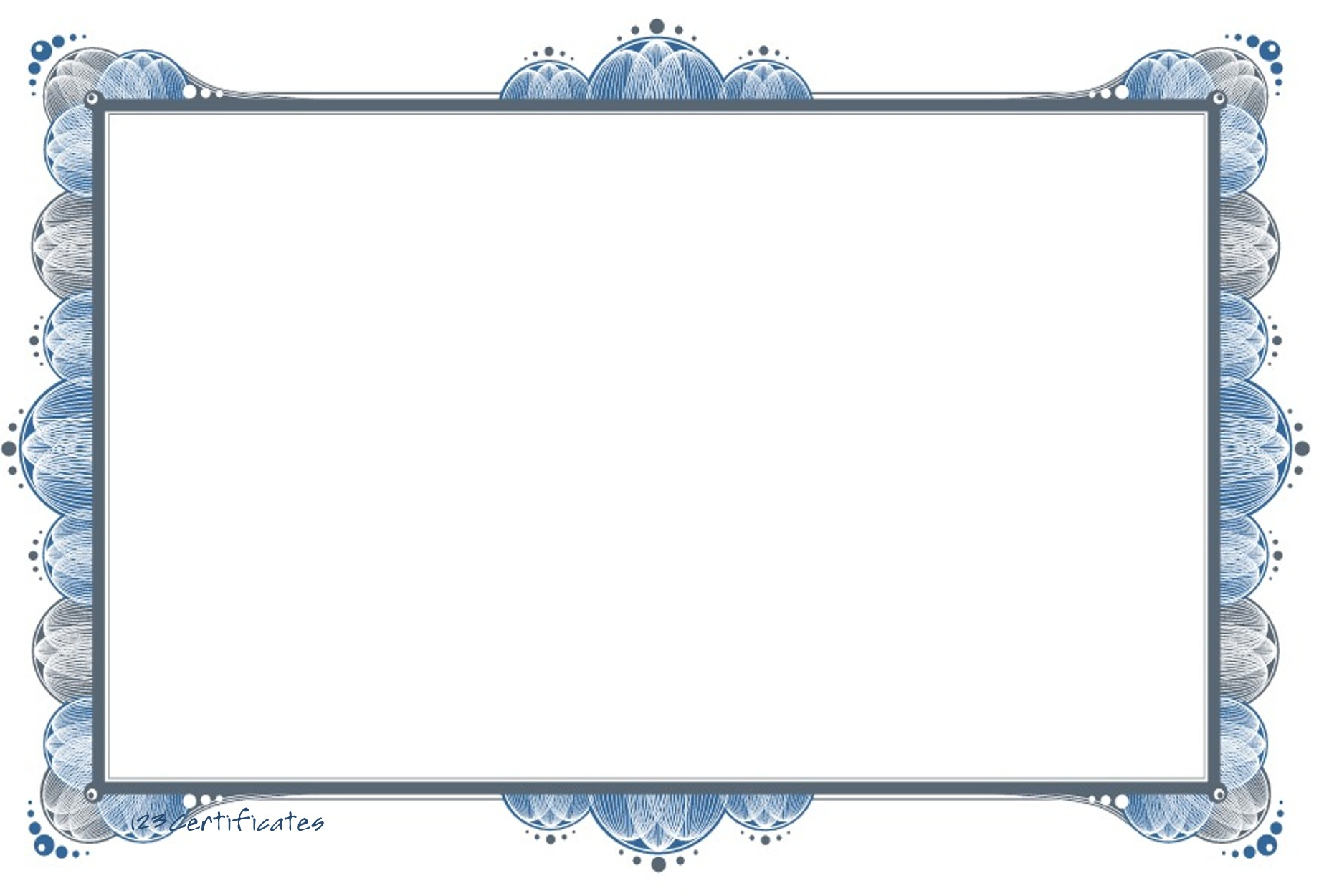 Free certificate borders to download, certificate templates for