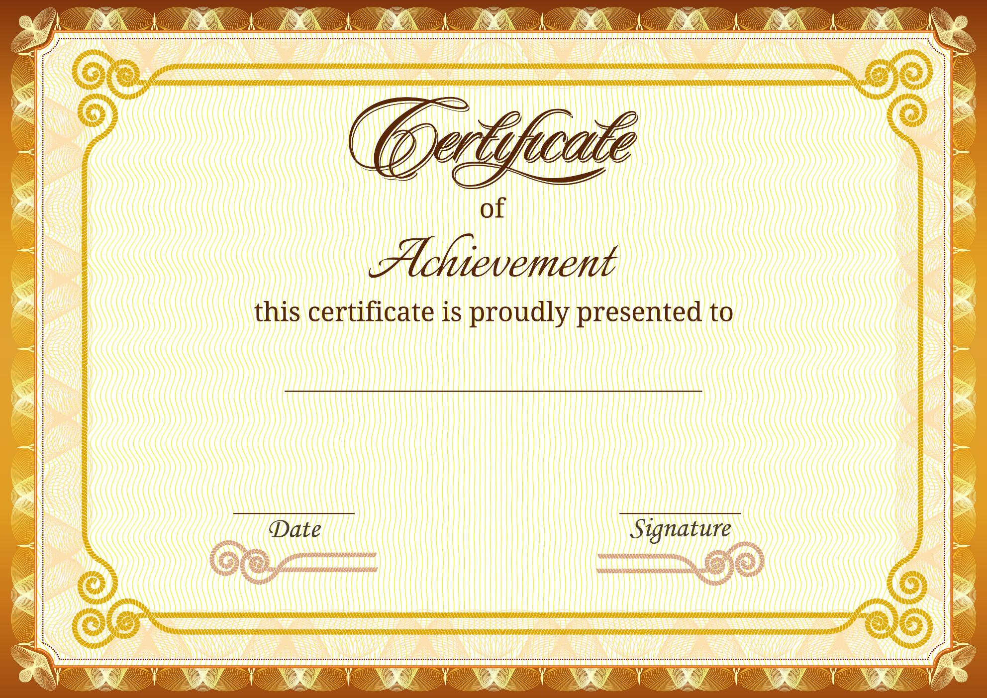 certificates as awards, certificate printing. online printing
