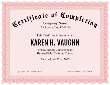 Certificate Maker – Template Trove