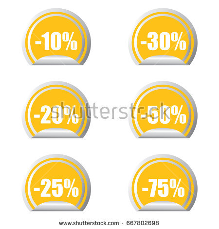 Certificate Emblem Labels Vector Mega Savings Stock Vector