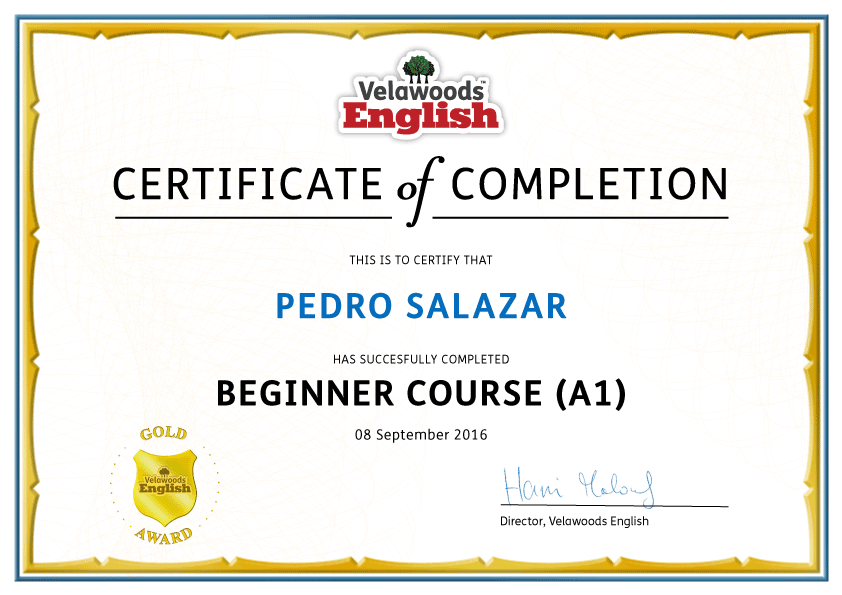 Beginner English Course – Complete Course with Certificate of