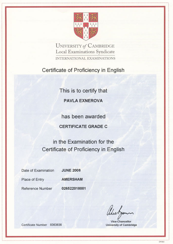 English lessons exams, English diploma,official certificates English