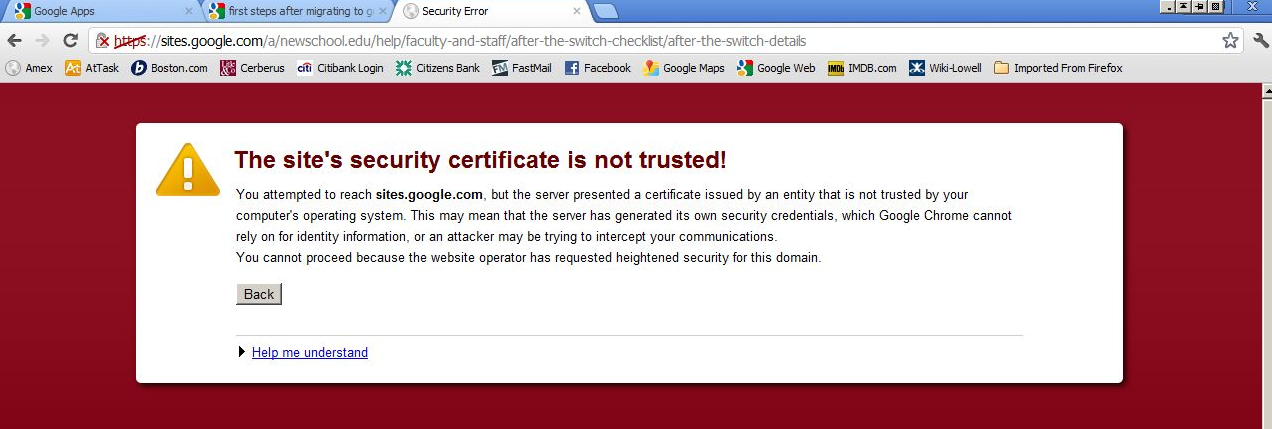 The strange case of the Google certificate roadblock TechRepublic