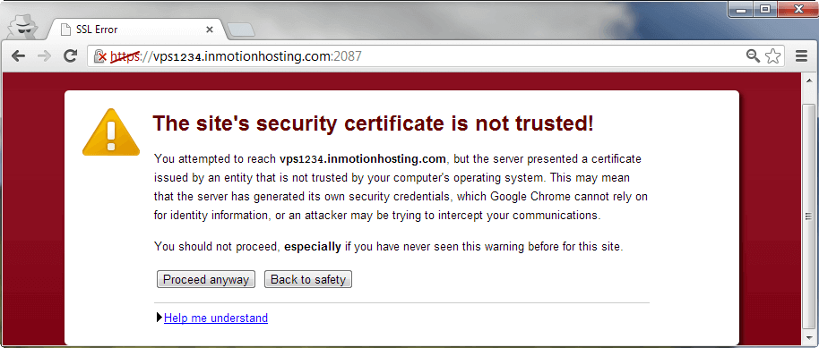 SSL Certificate Errors in Chrome, learn how to Fix SSL Errors