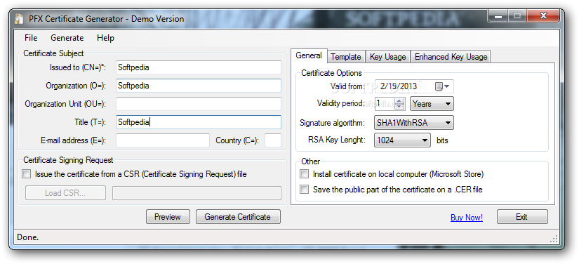 X509 Certificate Generator Download