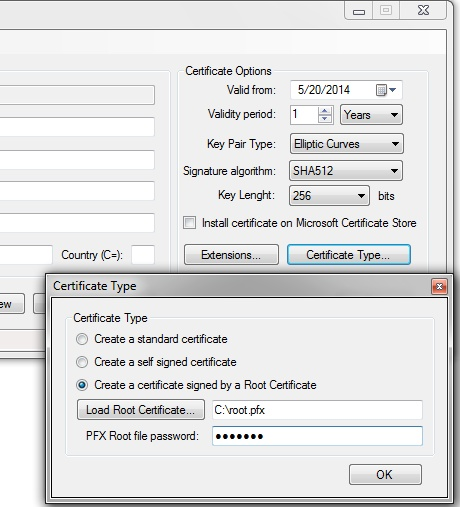 PFX Digital Certificate Generator – Digital Signature Software