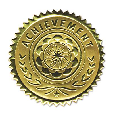 Gold Foil Certificate Seals Graduation | Anderson's