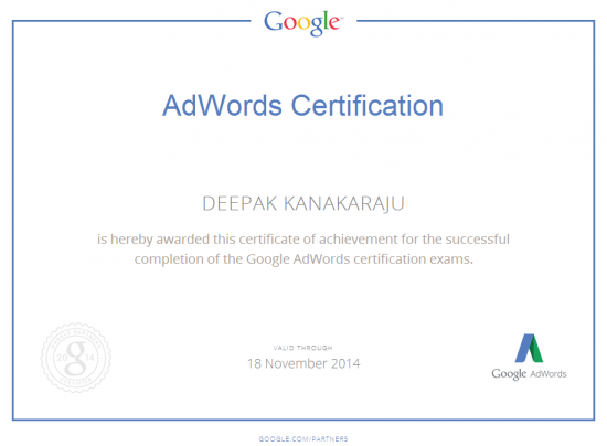How to Become a Google AdWords Certified Professional (Google Partner)