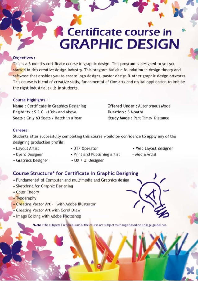 course in graphic design