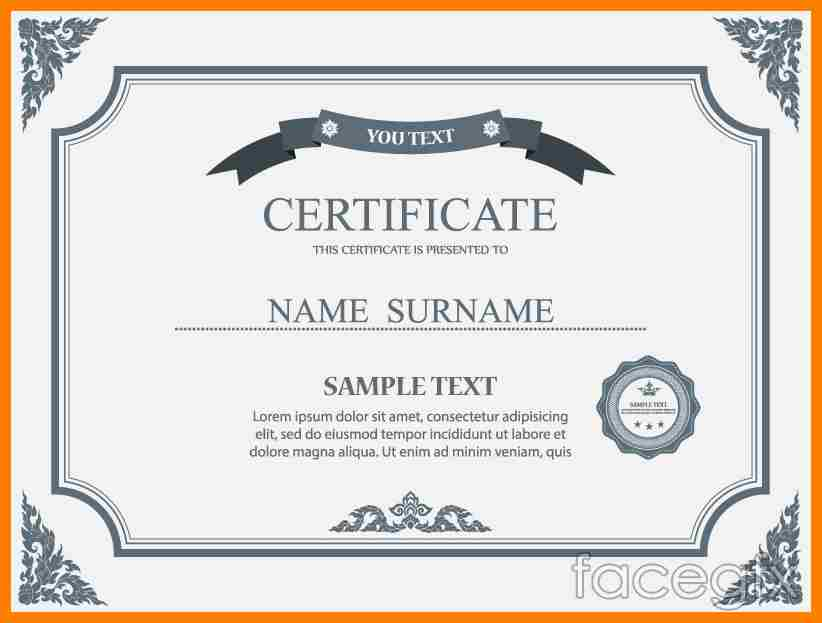 11+ certificate border design hd | teller resume