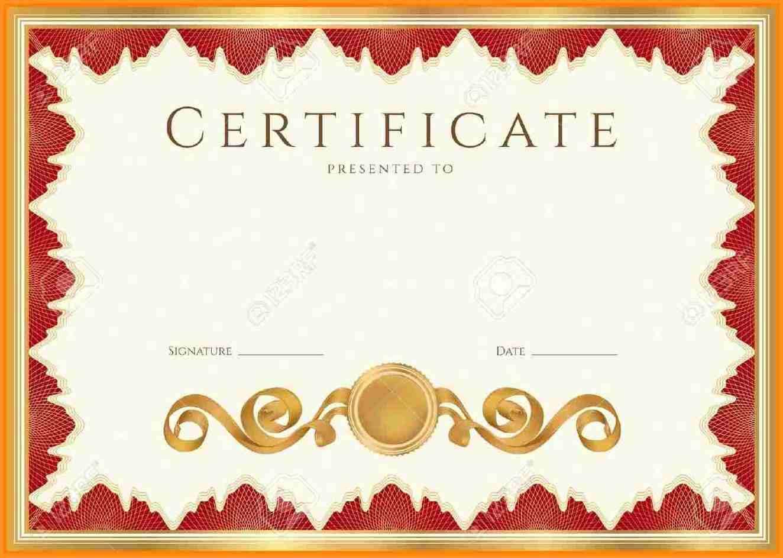 certificate hd