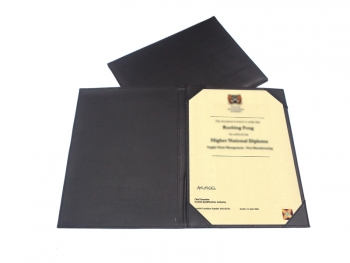 256 PU Certificate Holder | TJ Products & Technology