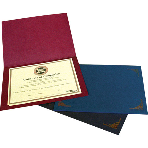 Paper Certificate & Award Folder Holders | Studio Style