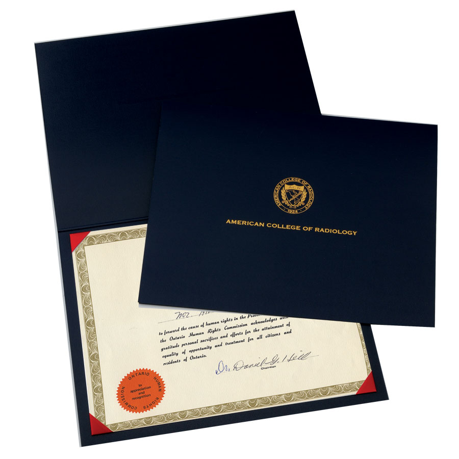 Regency Certificate Holder | The Leslie Company