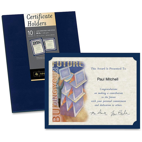 Southworth Certificate Holders, Navy Blue LD Products