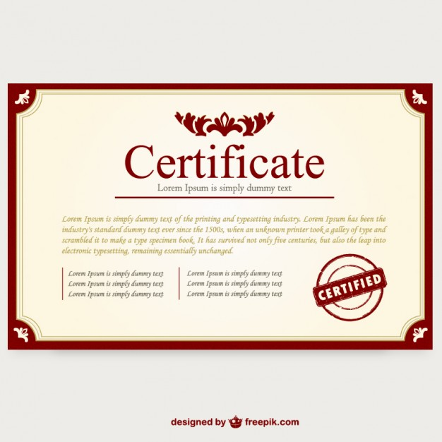 Certificate Layout by rohnnepomuceno on DeviantArt