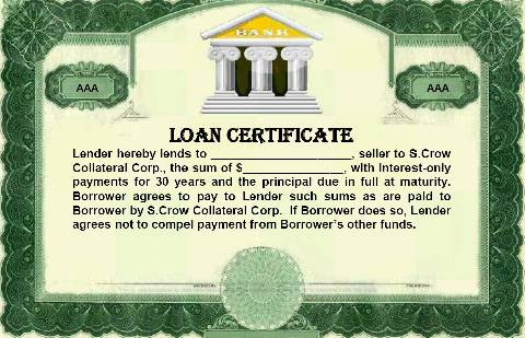 Why Lenders Like to Lend to Those Who Sell to S.Crow Collateral