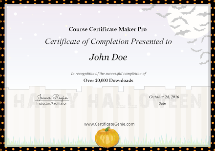 App Course Certificate Maker Plus APK for Windows Phone | Android