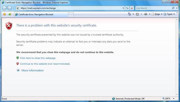 Installing a Self Signed Certificate as a Trusted Root CA in