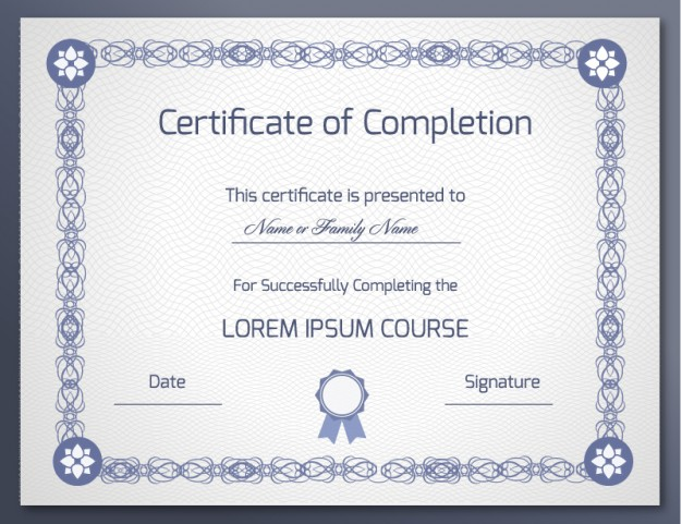 certificate of completeion Expin.franklinfire.co