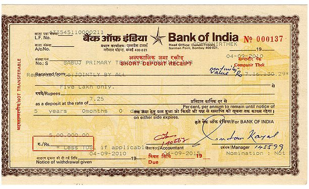 Certificates of Deposits (CDs) or Dividend Paying Whole Life