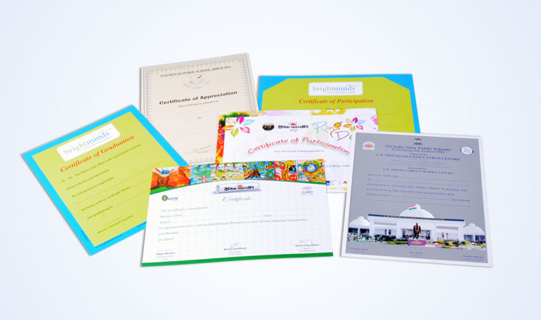 Certificate Printing Company, Certificate Printing Services Jaipur