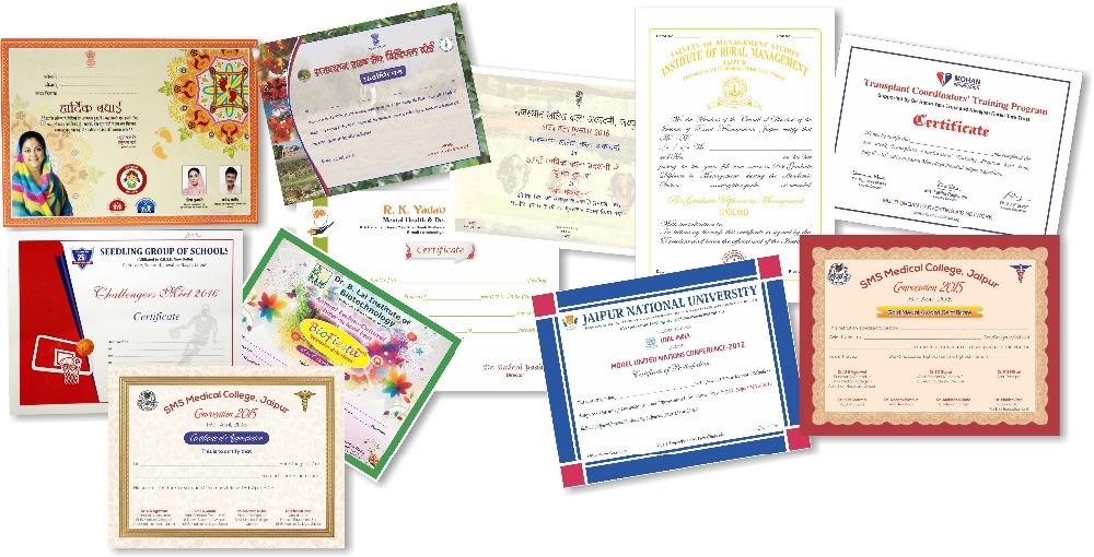 Certificate Printing Paper Buy Certificates Printing