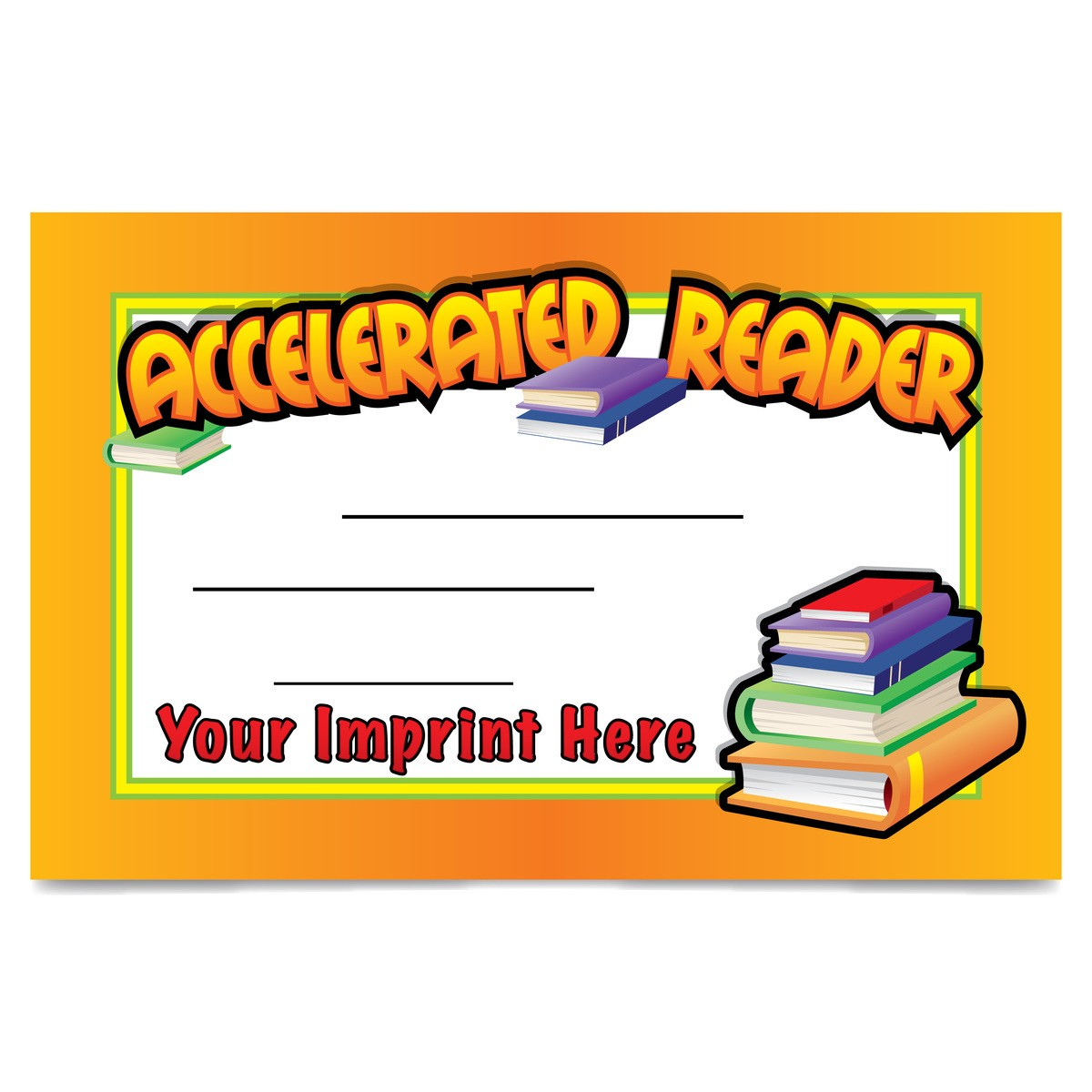 outstanding reader printable certificate | Certificates