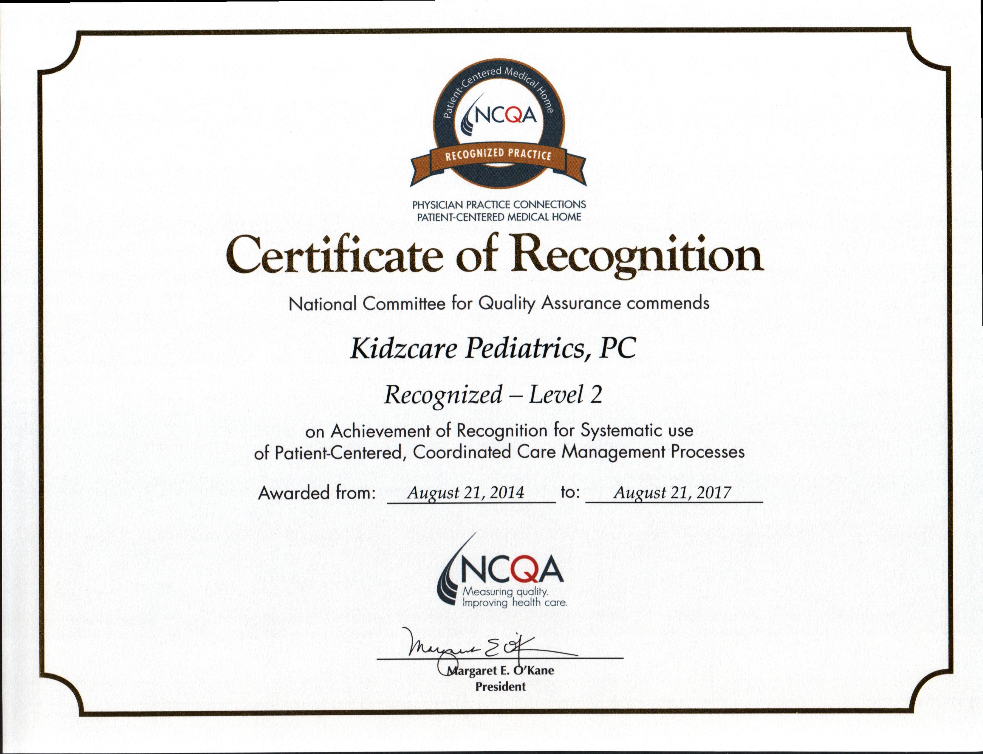 In the News & Awards KidzCare Pediatrics
