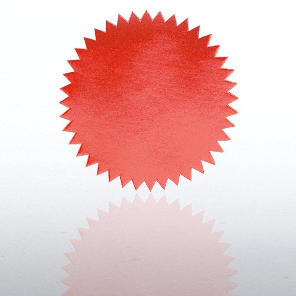 Certificate Seal Plain Red Certificate Seals & Accessories