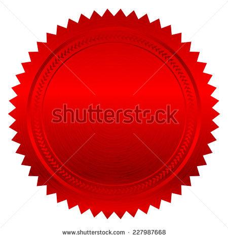 Red Seals Free vector in Adobe Illustrator ai ( .AI