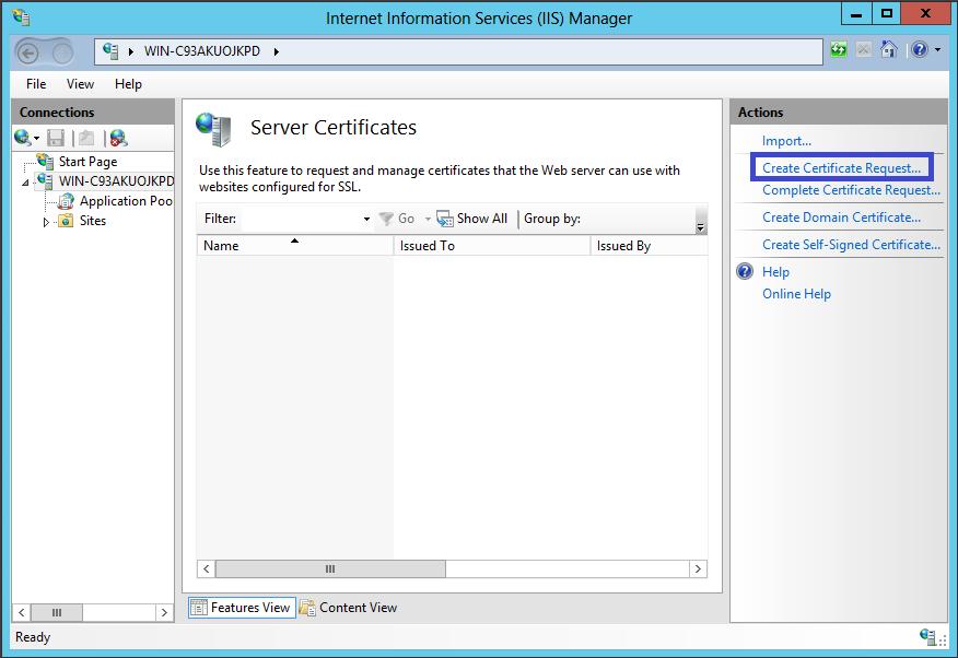 Comteg SSL IIS Application Request Routing Setup