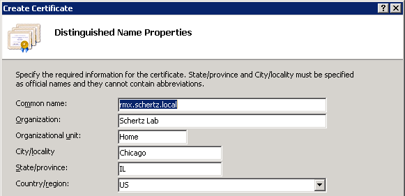 Certificate Requests in Windows Server 2008 : Jeff Schertz's Blog